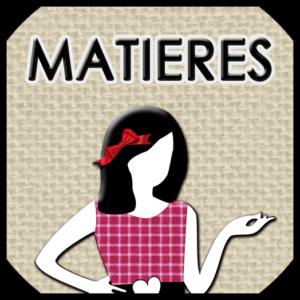 MATIERES